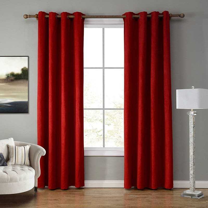 Blackout Suede Curtains for Bedroom