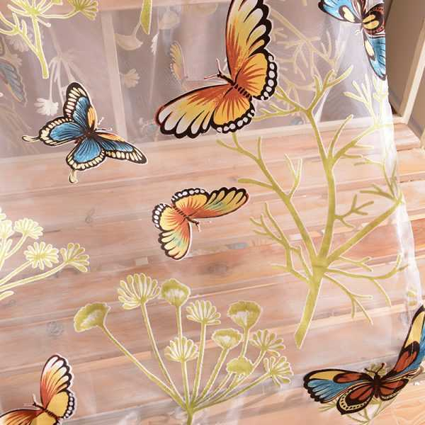 Curtains with Butterfly for Bedroom
