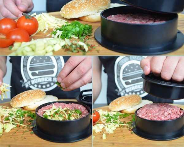 Eco-Friendly Non-Stick ABS Burger Maker