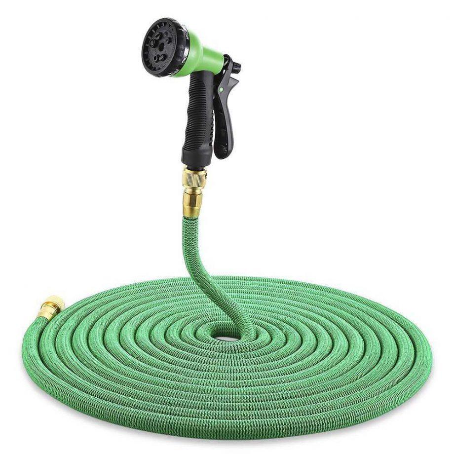 Flexible Garden Hose with Sprayer