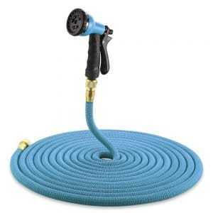 Flexible Garden Hose with Sprayer