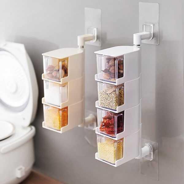 Seasoning Storage Boxes