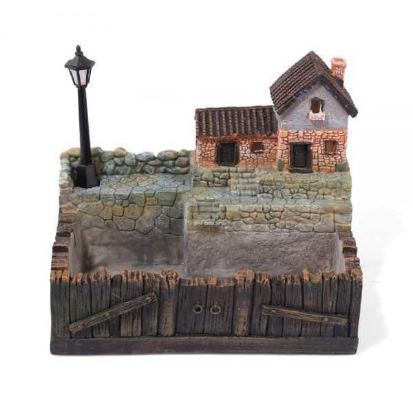 Landscape Flowerpot with Lamp