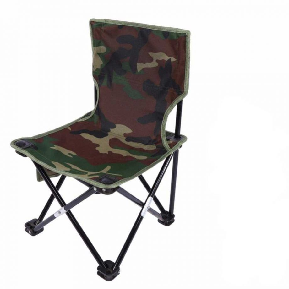 Sturdy Folding Camouflage Outdoor Chair