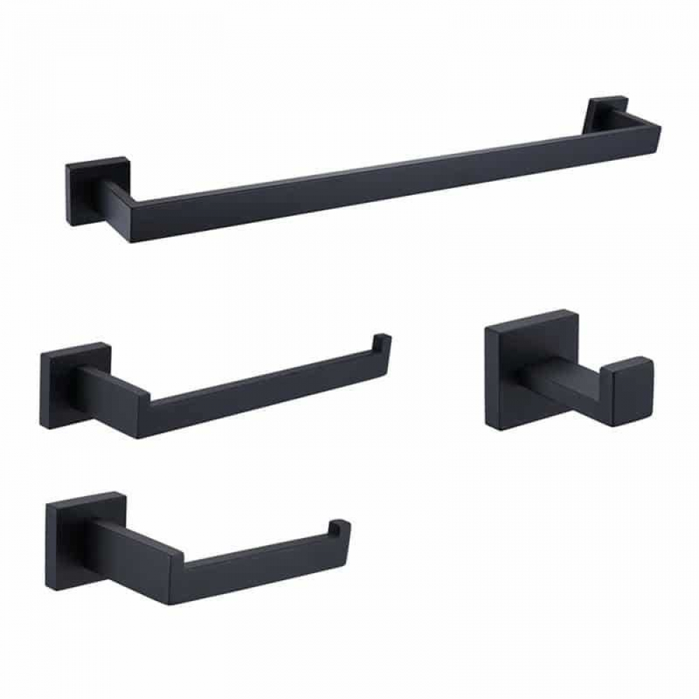 Set of Bathroom Hardware and Holders