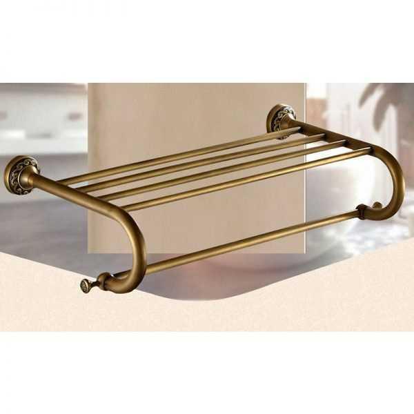 Vintage Elegant Brass Tap for Bathroom