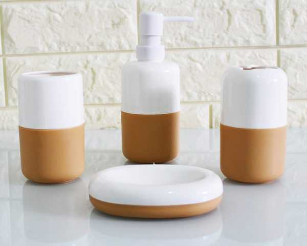 Eco-Friendly Plastic Bathroom Accessories Sets
