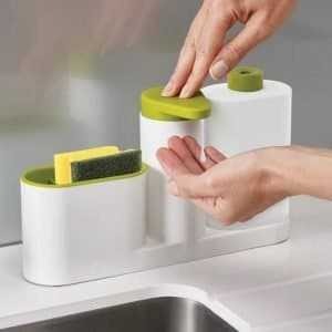 Multifunctional Green Plastic Organizer