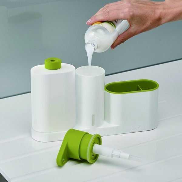 Multifunctional Green Plastic Organizer