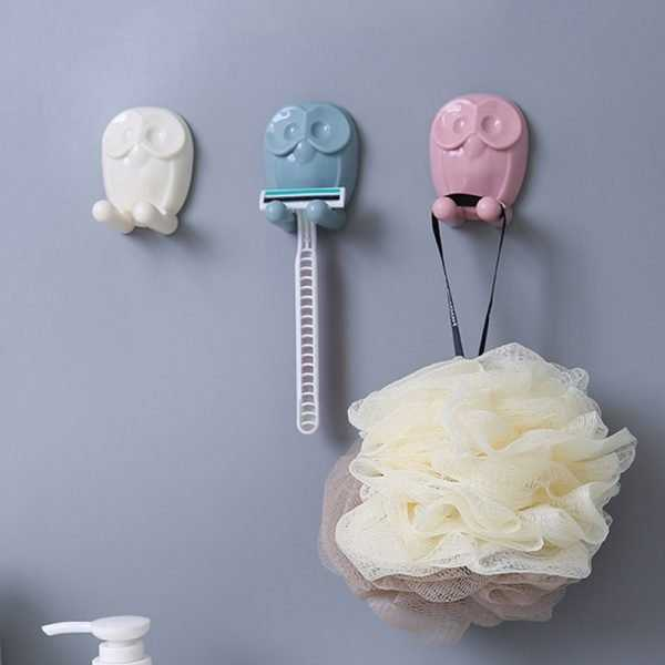 Colorful Owl Shaped Toothbrush Holder