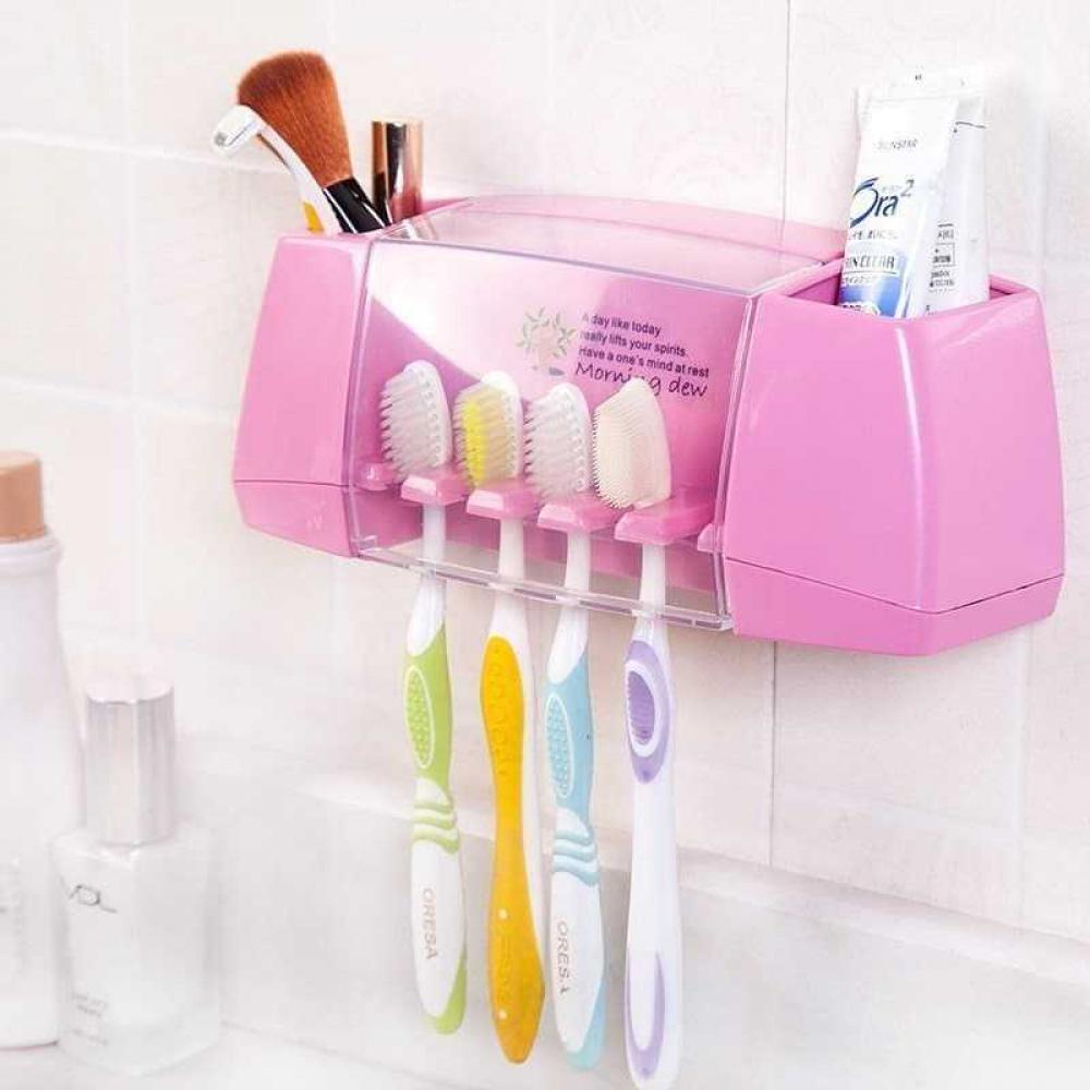 Multicolor Multifunctional Toothbrush Holder