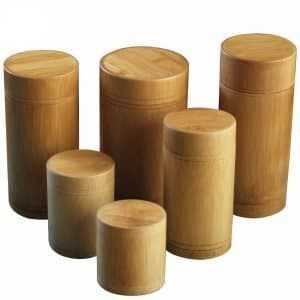 Bamboo Storage Jars for Tea