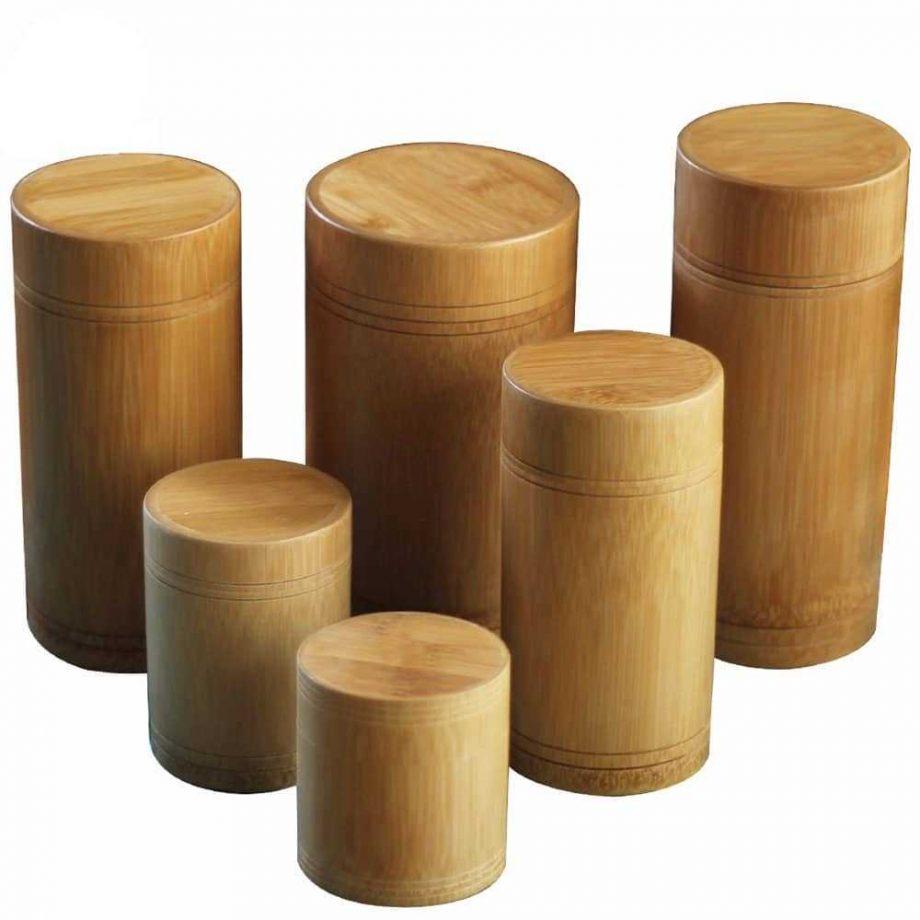 Bamboo Storage Jars for Tea