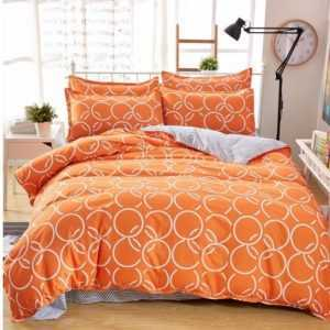 Colorful Geometric Pattern Cotton Bedding Set