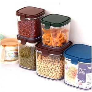 Transparent Plastic Food Storage Box