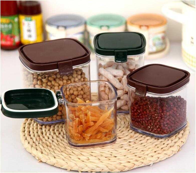 Transparent Plastic Food Storage Box