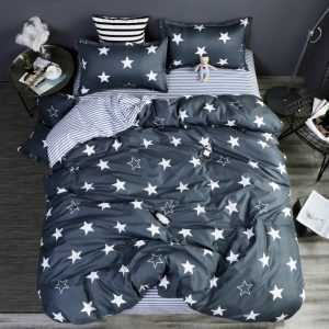 Dark Stars Two Color Bedding Set