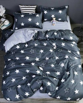 Dark Stars Two Color Bedding Set