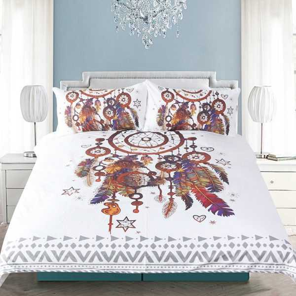 Hipster Watercolor Bedding Set
