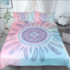 Bedding Mandala Pink Set