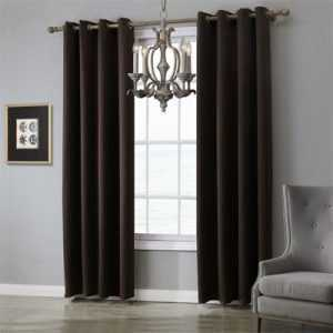 Modern Cotton Blackout Curtains for Bedroom
