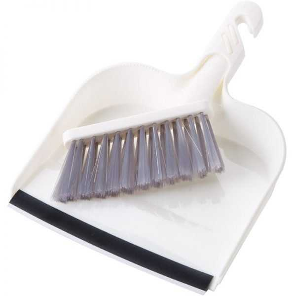 Small Cleaning Brush and Dustpan Set