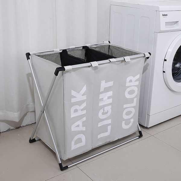 Rectangle Cotton Laundry Basket
