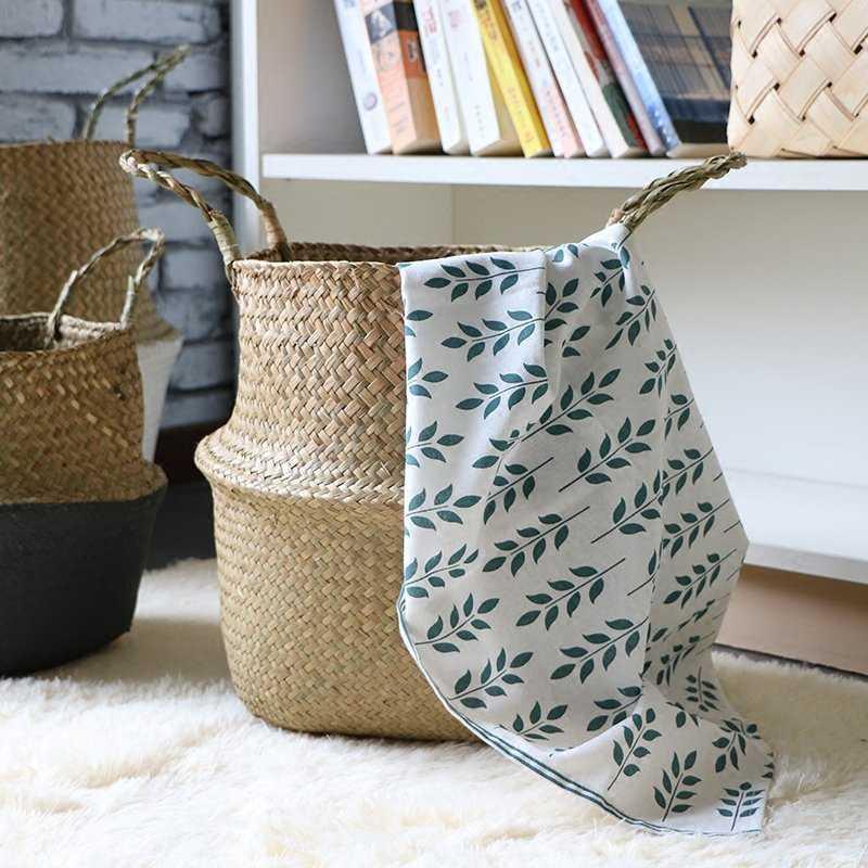 Rattan Foldable Laundry Hamper