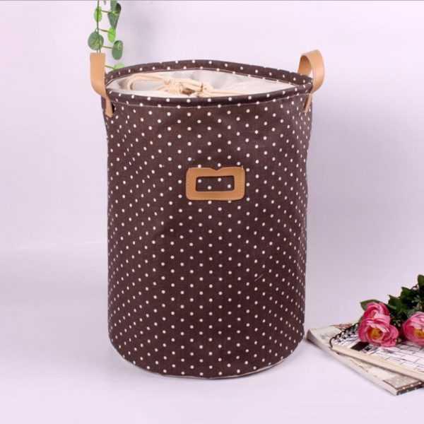 Foldable Linen Laundry Basket