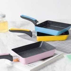 Non-Stick Colorful Stainless Steel Frying Pan
