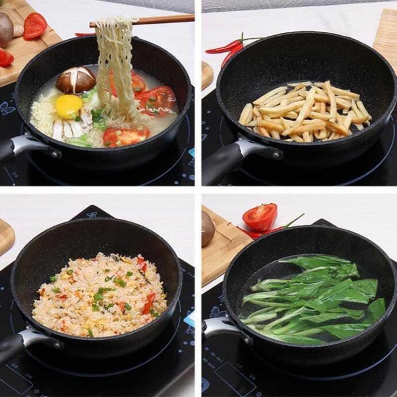 Non-Stick Aluminum Alloy Wok Pan