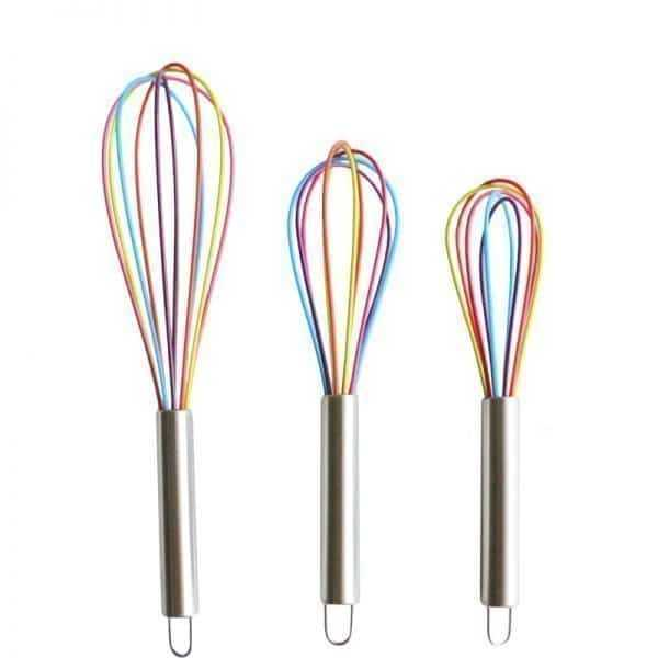 Eco-Frinedly Colorful Silicone Cooking Mixer