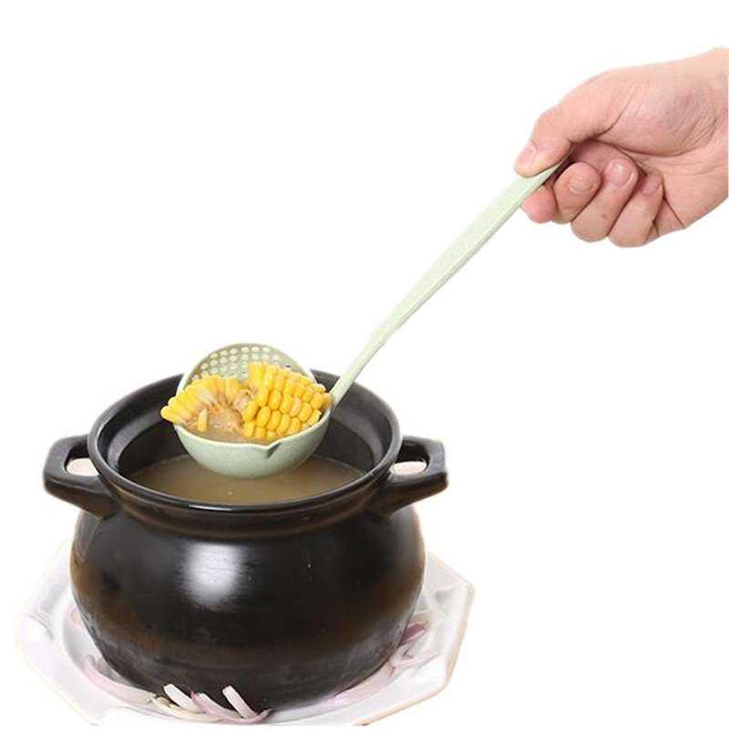Colorful Soup Colander