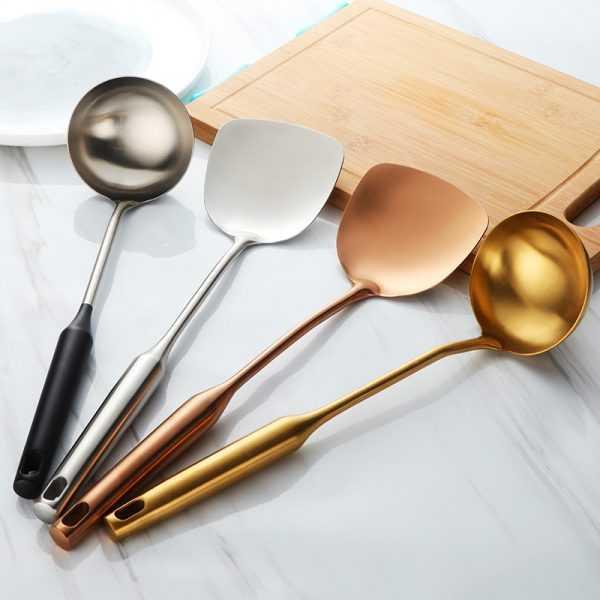 Stainless Steel Cooking Utensils 2 pcs Set