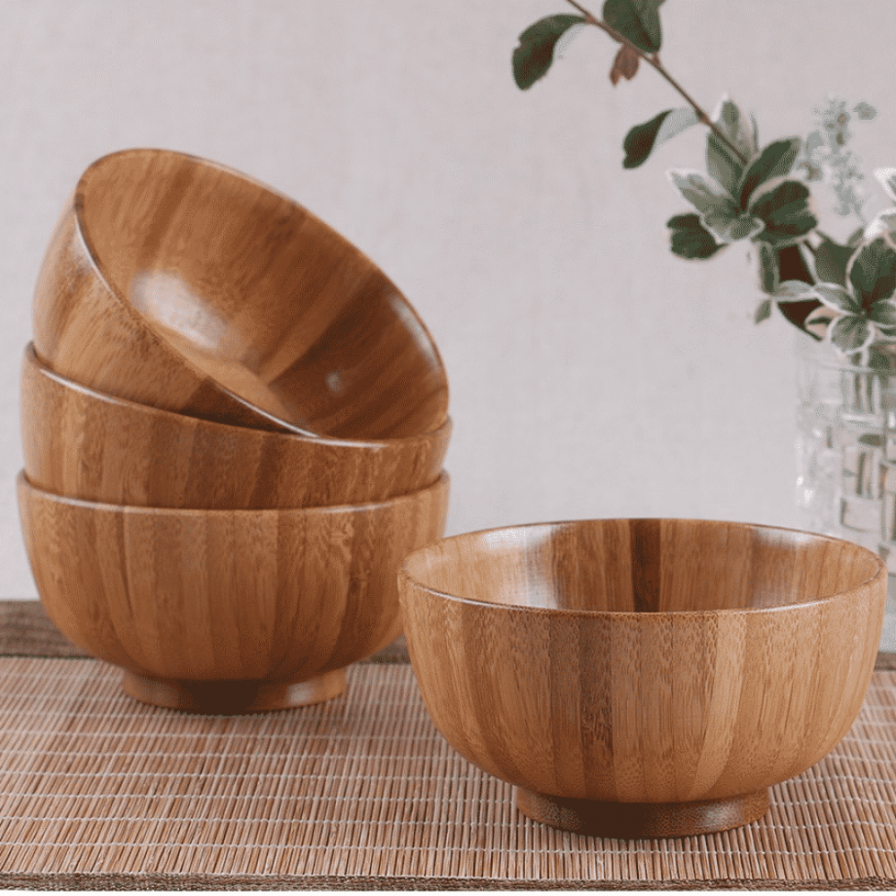 High Quality Traditional Chinese Eco-Friendly Wood Bowl