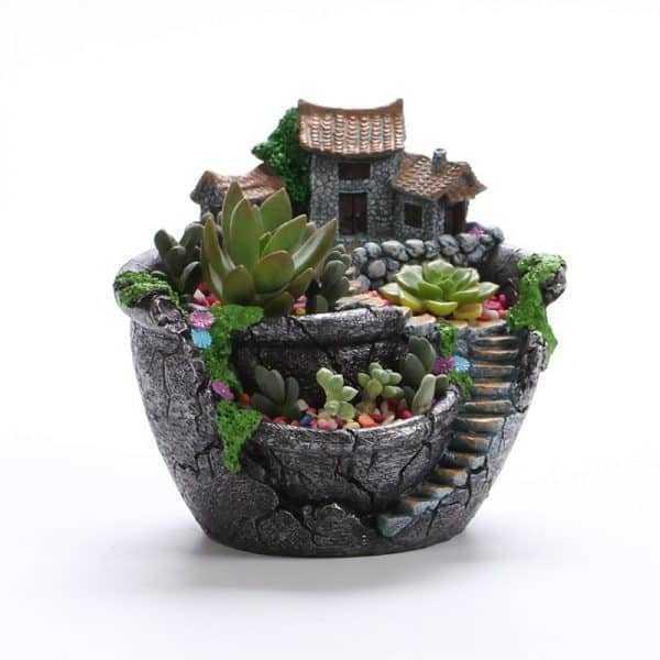 Eco-Friendly Creative Landscape Flowerpot