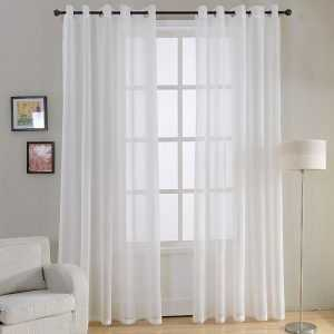 Decorative Plain Curtains for Bedroom