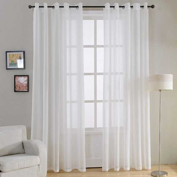 Decorative Plain Curtains for Bedroom