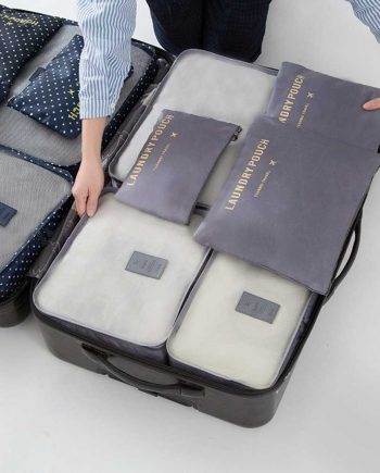 Waterproof Large Size Storage Bags 6 pcs/Set