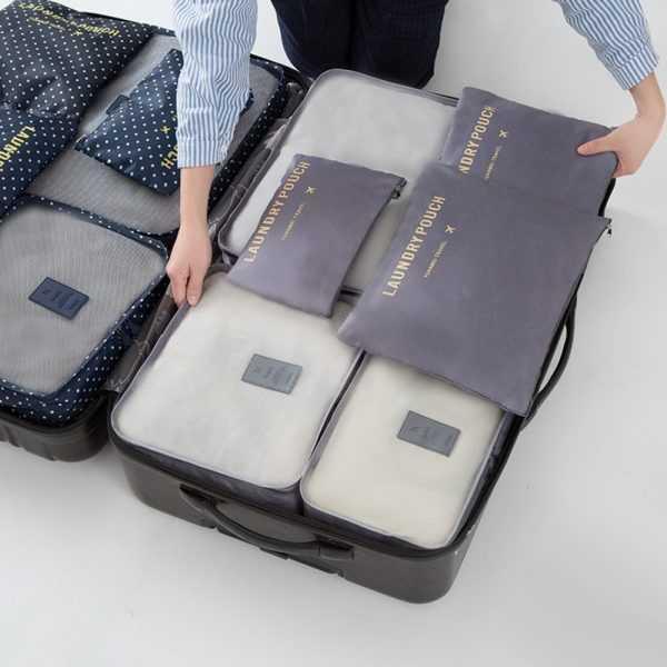 Waterproof Large Size Storage Bags 6 pcs/Set
