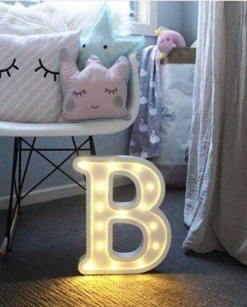 Luminous LED Letter Shaped Light