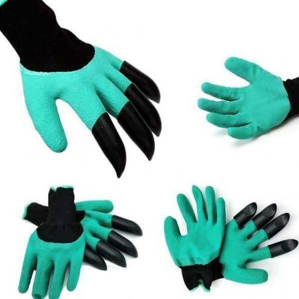 Plastic Claws Garden Gloves