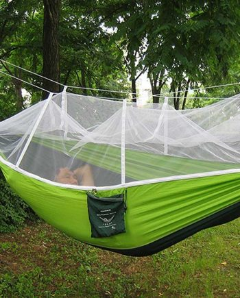 Outdoor Portable Comfortable Durable Hammock with Mosquito Net