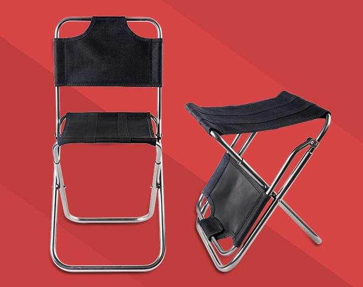 Dual Purpose Folding Chair & Stool