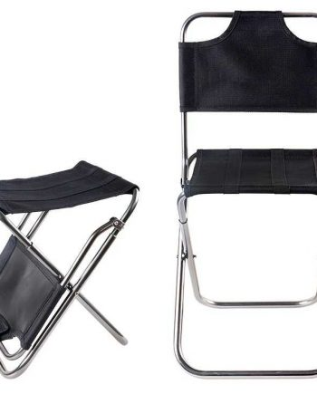 Dual Purpose Folding Chair & Stool