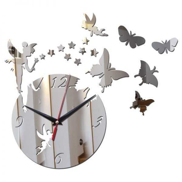 Cute Acrylic Wall Clock