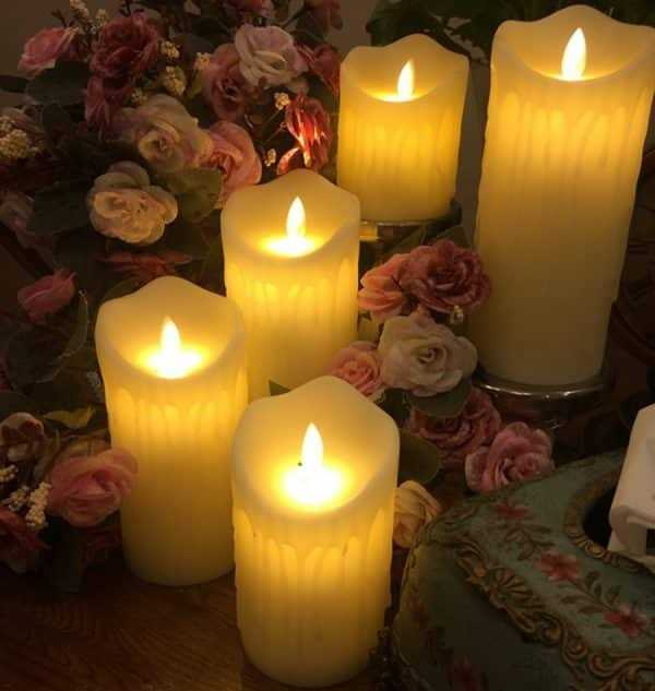 Electronic LED Candle with Remote Control