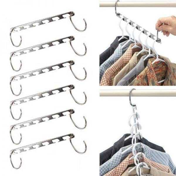 Creative Space Saver Hangers Organizer