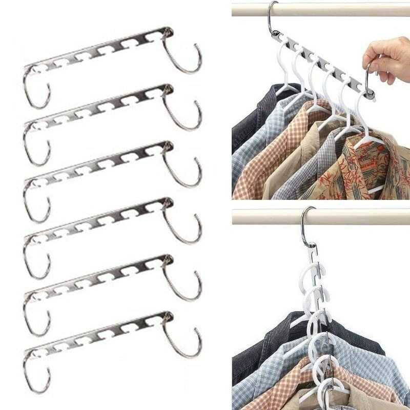 Creative Space Saver Hangers Organizer