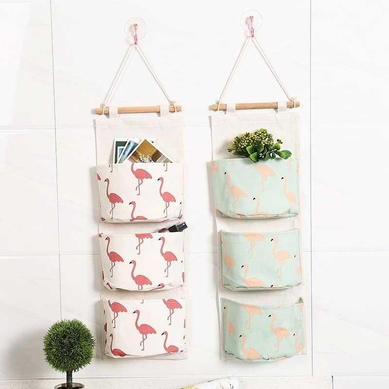 Cute Cotton Hanging Organizer